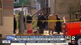 BPD re-expand the crime scene where Detective Suiter was shot - Video