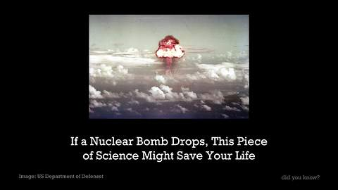 If A Nuclear Bomb Drops, Be Sure To Keep Beer Around