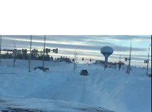 Roads Remain Hazardous After Bismarck Blizzard - Video