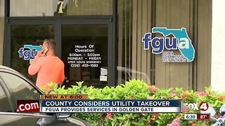 Golden Gate water bills could be lower if Collier County takes over utility - Video