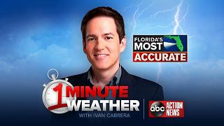 Florida's Most Accurate Forecast with Ivan Cabrera on Monday, June 12, 2017 - Video