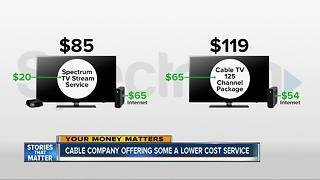 Cable company offers lower cost service - Video