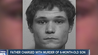 Father charged with murder of 6-month-old son - Video
