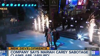 Production company fires back at Mariah Carey - Video
