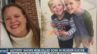 Autopsy: Highlands Ranch boys killed by own mother in murder-suicide had painkillers in systems - Video