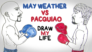 Mayweather vs Pacquiao | Draw My Life - Video