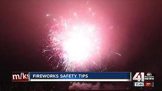 Fireworks safety tips - Video