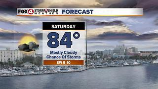 Storm Chances Continue This Weekend 6-9 - Video