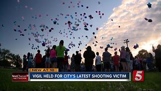 Teen Shooting Victim Remembered In Balloon Release - Video