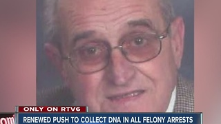 Push to collect DNA in felony arrests renewed after Zionsville murder - Video