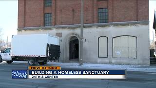 New homeless sanctuary project enters next phase - Video