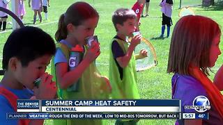 Keeping kids safe in the heat at summer camps - Video