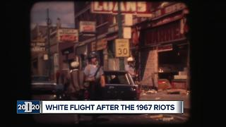 White Flight after the 1967 Detroit riots
