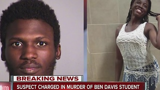Suspect charged in murder of Ben Davis student - Video