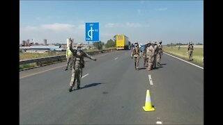 South Africa - Cape Town - Covid-19 Roadblock (CCy)