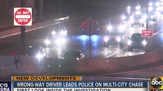 What goes into the investigation of a wrong-way driver after several in the Valley - Video