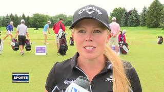 Rain halts final practice round at LPGA Classic - Video