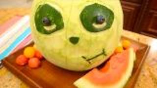 Fruit Carving Watermelon Panda