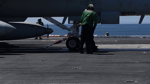 USS Theodore Roosevelt Conducts Flight Operations