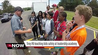 Troy Police hold youth leadership academy - Video