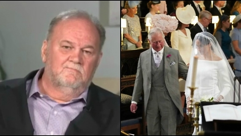 Meghan's Dad Watched Her Wedding on TV, and Here's What He Thought