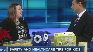 Holiday safety and healthcare tips for kids