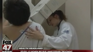 Study: 1 in 3 women receive unnecessary cancer treatment - Video