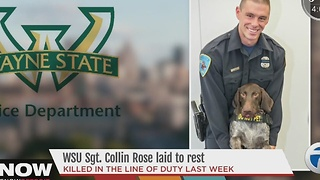WSU Sgt. Collin Rose laid to rest - Video