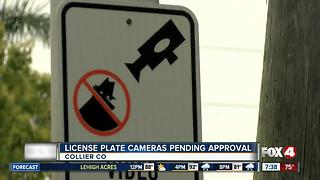 License Plate Cameras in Collier County Pending Approval
