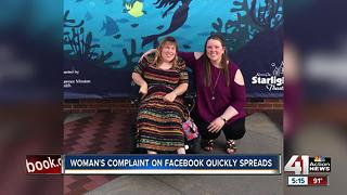 Woman's complaint on Facebook quickly spreads - Video