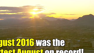 August broke another global heat record - Video