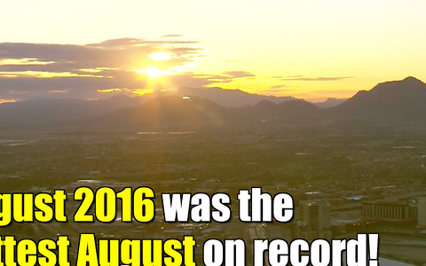 August broke another global heat record