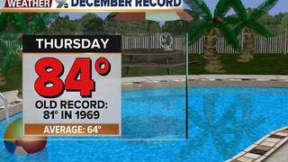 Chief Meteorologist Erin Christiansen's KGUN 9 Forecast Wednesday, December 14, 2016 - Video