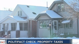Politifact: Wisconsin property taxes - Video