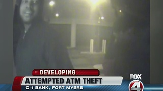 Another attempted ATM theft