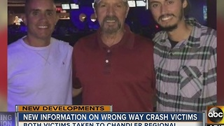 UPDATE: Police ID driver in Ahwatukee wrong-way crash - Video