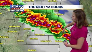 Jesse Ritka's Tuesday 5pm Storm Team 4cast - Video