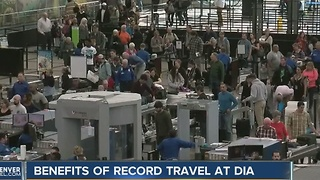 Record-setting passenger counts could lead to more flights at Denver International Airport - Video