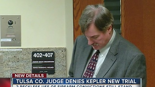 Judge Denies Kepler New Trial - Video