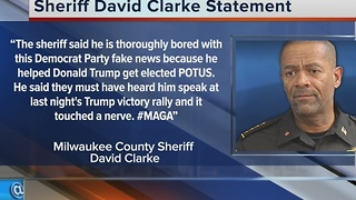 Three state lawmakers call for Sheriff Clarke's removal or resignation - Video