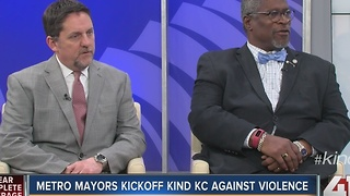 Metro mayors kickoff #KindKC against violence - Video