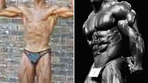 Pro I.F.B.B. Bodybuilder's Transformation: Before And After Pictures