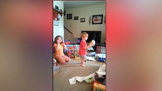 Talented Toddler Loves Frozen - Video
