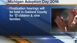 Mich Adoption Day - Video