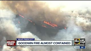 Evacuations lifted for most of Goodwin Fire residents - Video