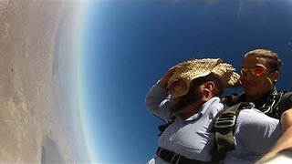 Amish Man Skydiving Proves Dreams can Come True - Video