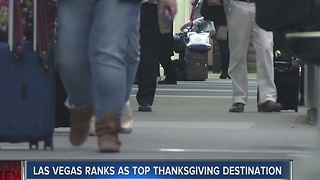 Las Vegas named top Thanksgiving weekend destination