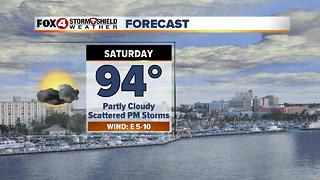 Hot & Humid Weekend 6-30 - Video