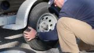 How To Change A Boat Trailer Tire - Video