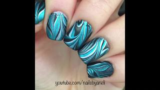 Talented nail artist shows off impressive design compilation
